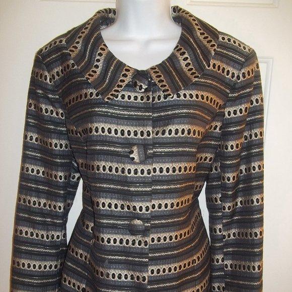 Laura Shiny Jacket Size 16